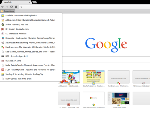 hpchrome-bookmarks-list