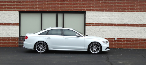 Lowering my Audi S6 on HRE FF01 Wheels