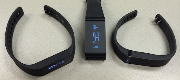 BATTLE! – Striiv Touch versus Withings Pulse O2 versus Fitbit Flex versus Garmin Vivofit