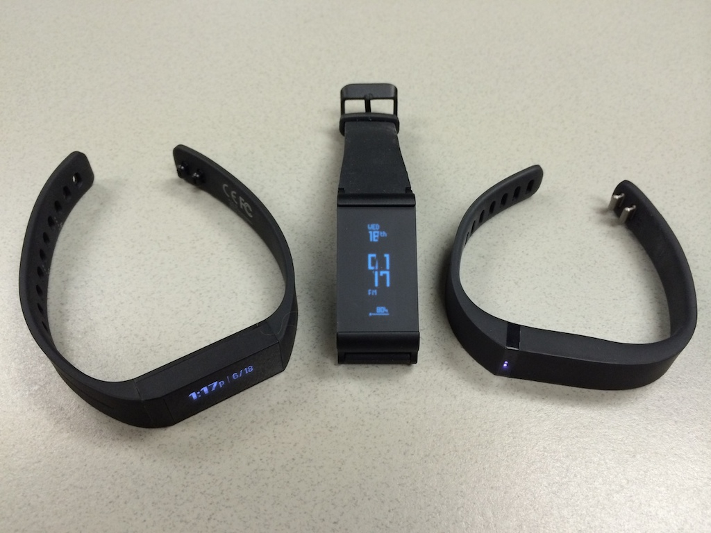 BATTLE Striiv Touch Versus Withings Pulse O2 Fitbit Flex