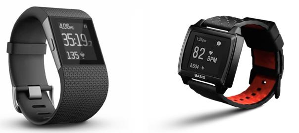 QUICK COMPARISON: Fitbit Surge versus BasisPeak