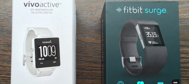 BATTLE! – Fitbit Surge vs Garmin Vívoactive vs Polar M400