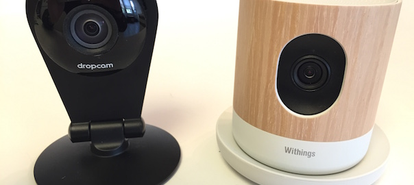 BATTLE! – Dropcam Pro versus Withings Home WiFi Security Cameras