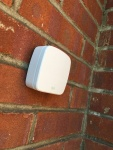 Elgato Eve Weather - Mounted on home exterior