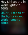 INSTEON - Apple watch success