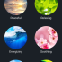 Themes are what LIFX calls scenes, where you an control lights and colors with a single click