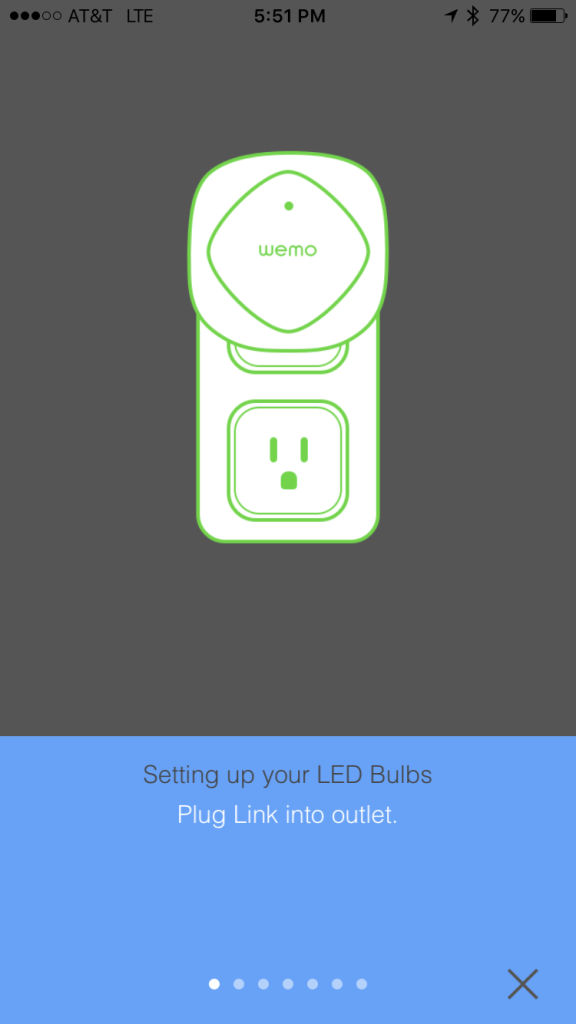 Setting up the Link with WeMo