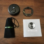 SkyBell HD - Unboxing - Bag includes hardware, tool; comes with a nice new mount bracket