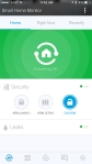 SmartThings Hub - Various views provided here from inside their iOS app
