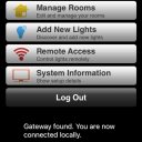 Some of the settings you can make within the TCP app