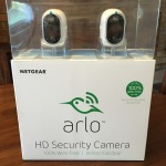 Arlo Wireless Smart Home Security Camera System - Front of main box