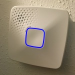 First Alert OneLink Smoke Detector - Solid blue LED during setup