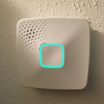 First Alert OneLink Smoke Detector - Cyan during boot-up