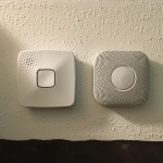 First Alert OneLink Smoke Detector - Comparison side-by-side of 2nd generation Nest Protect