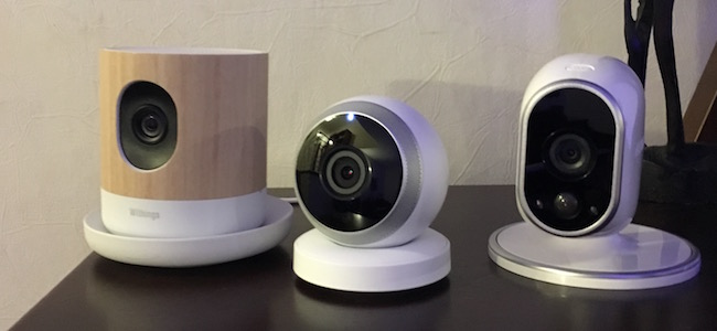 Logitech Circle versus Withings Home versus Arlo Wireless – Camera Comparison