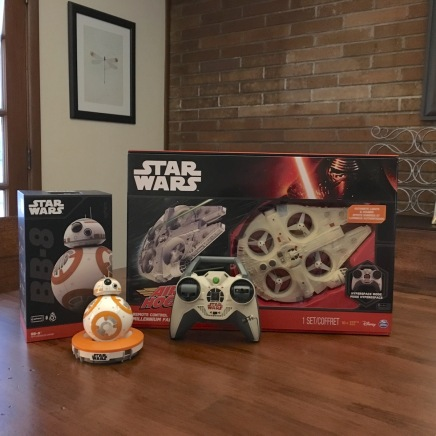 BB-8 Toy by Sphero & Millennium Falcon Quad-copter by Air Hogs