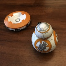 BB-8 Toy by Sphero - Close-up view back & charger base