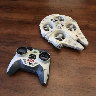 Millennium Falcon Quad-copter by Air Hogs - Controller, Toy