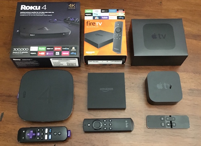 Fire TV vs Roku 4 vs Apple TV 4 – Battle of the Set Top Boxes