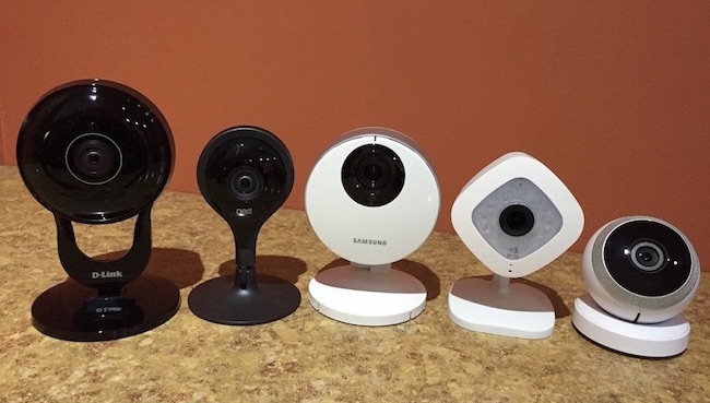 COMPARISON: NETGEAR Arlo Q vs Nest Cam vs Logi Circle vs Samsung SmartHD vs D-Link DCS-2630L