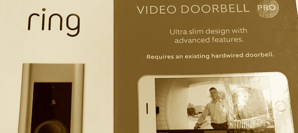 UPGRADE: Ring Video Doorbell PRO
