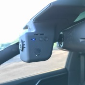 Driver side has various buttons, and a motion sensor