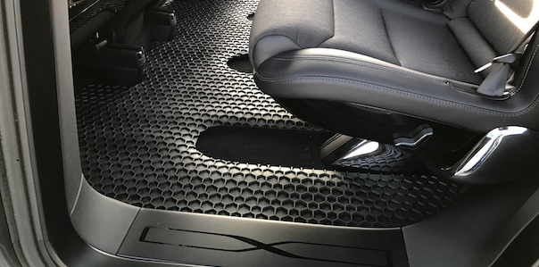 review toughpro tesla model x floor mats set tesla motors club. Black Bedroom Furniture Sets. Home Design Ideas