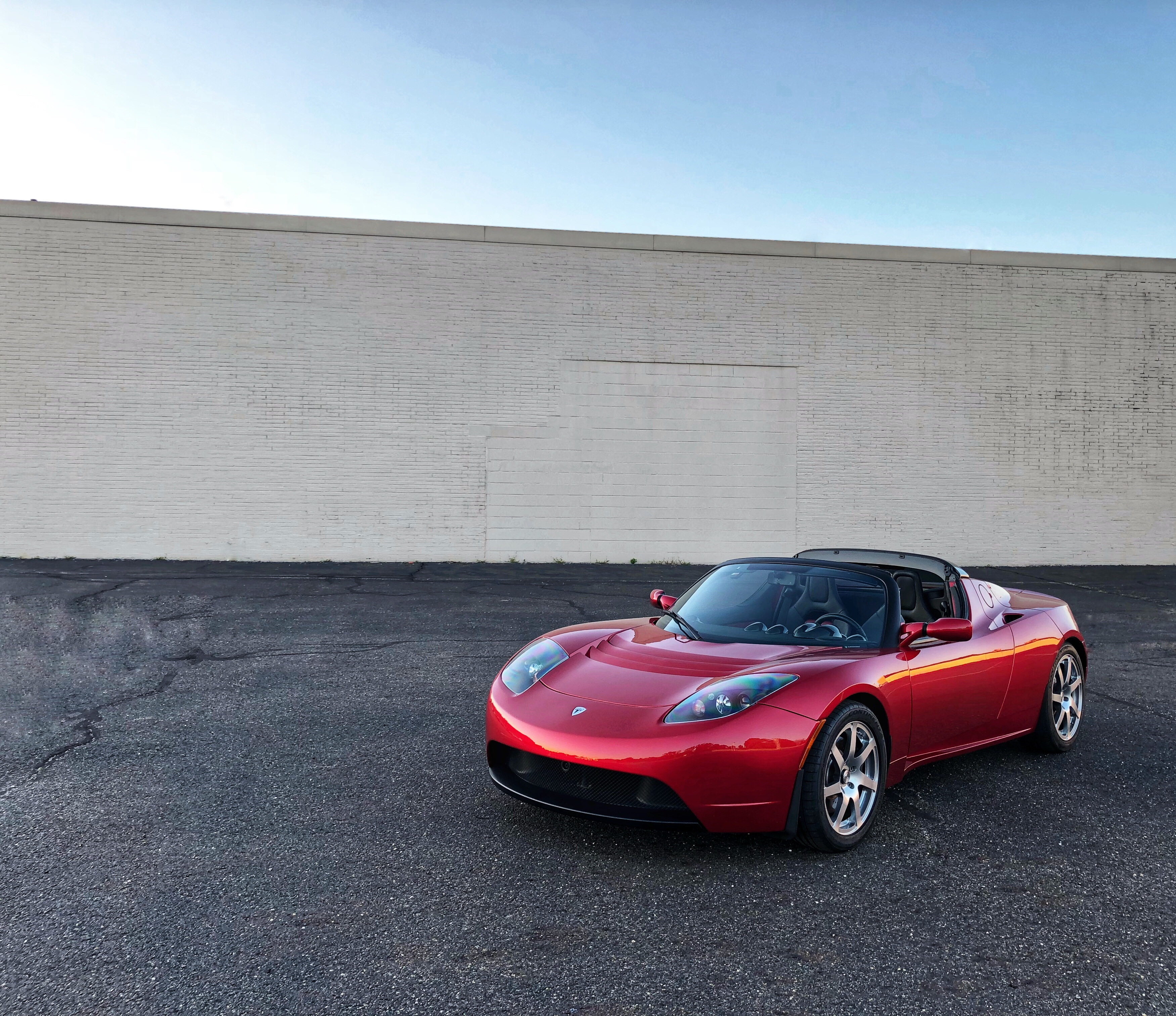2010 Tesla Roadster Sport With 3.0 R80 Battery (FULLY